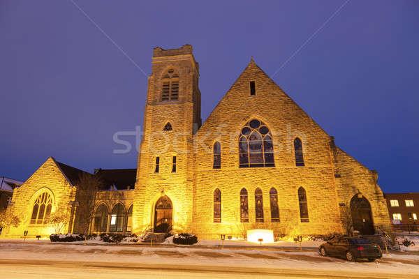First Presbyterian Church in Topeka Stock photo © benkrut