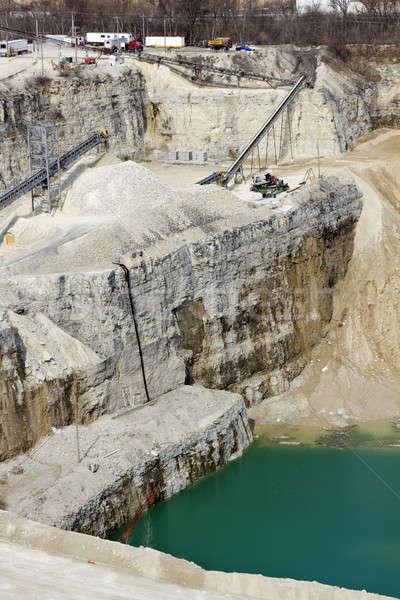 Limestone Quarry   Stock photo © benkrut