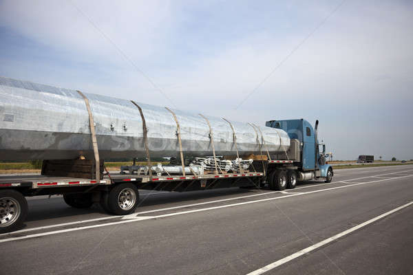 Transporting cell tower Stock photo © benkrut