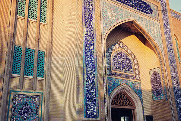 мечети Ливан поздно после полудня путешествия Сток-фото © benkrut