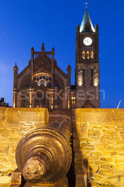 Guildhall in Derry Stock photo © benkrut