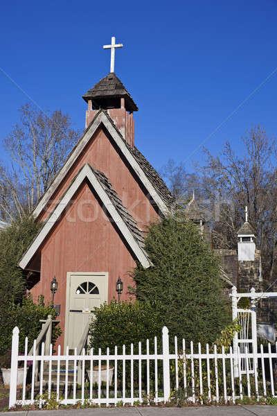 Сток-фото: мало · Церкви · Теннесси · США · дерево · крест