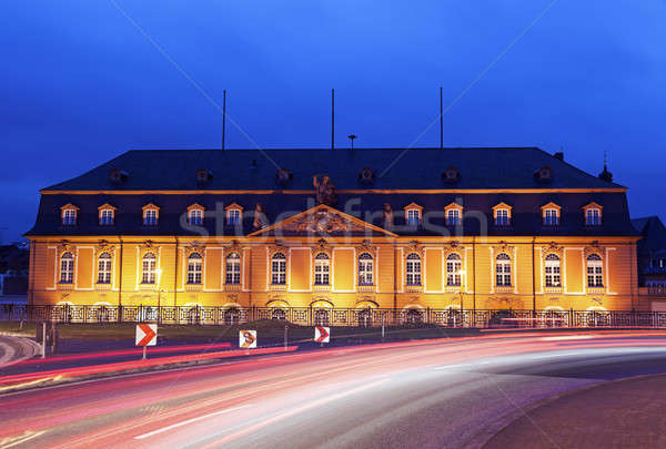 Staatskanzlei Rheinland-Pfalz. Mainz, Rhineland-Palatinate, Germ Stock photo © benkrut