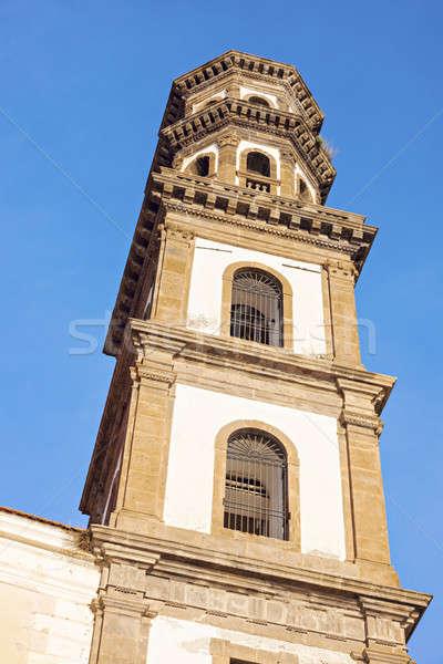 Santa Maria Maddalena Church in Atrani Stock photo © benkrut