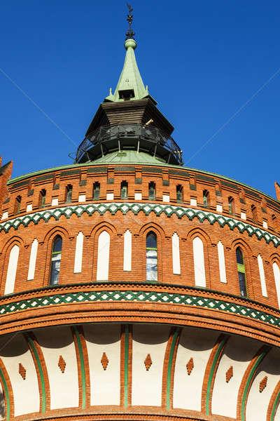 Old tower in Bydgoszcz Stock photo © benkrut