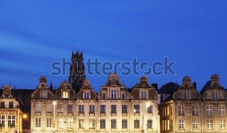 Plaats kerk skyline architectuur toren stadsgezicht Stockfoto © benkrut