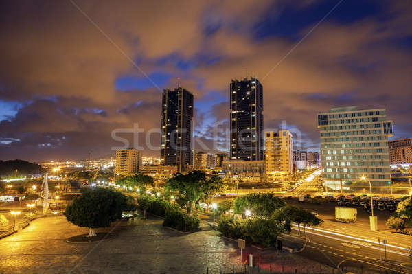Santa Cruz de Tenerife panorama Stock photo © benkrut