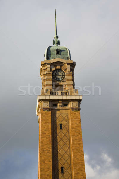 Clock Tower in Ohio City Stock photo © benkrut