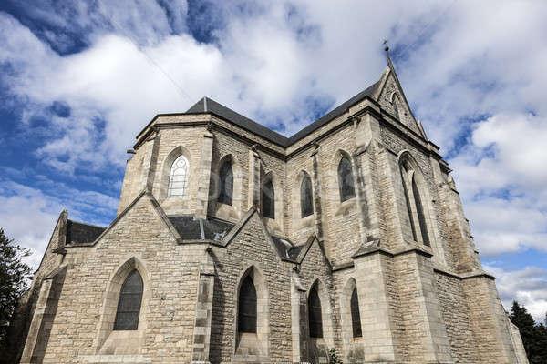 Cathedral in San Carlos de Bariloche Stock photo © benkrut