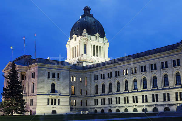 Saskatchewan Legislative Building in Regina Stock photo © benkrut