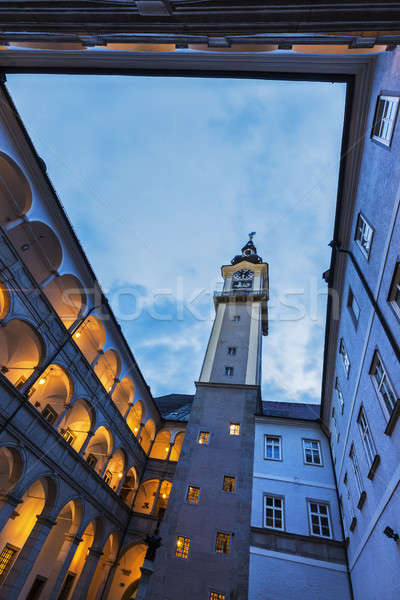 Landhaus in Linz Stock photo © benkrut