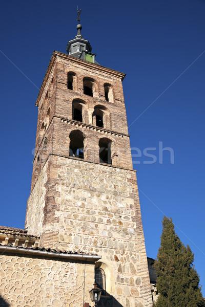 Church Tower in Segovia Stock photo © benkrut