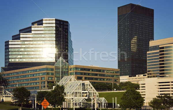 Late afternoon in Cleveland Stock photo © benkrut