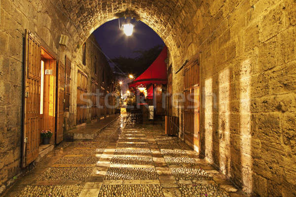 Old Town in Byblos Stock photo © benkrut