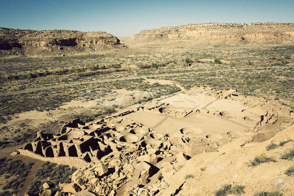 Ruins in Chaco Culture   Stock photo © benkrut