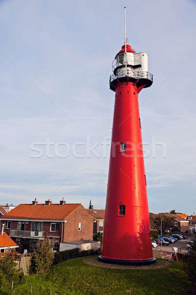 Van Holanda faro sur Países Bajos Foto stock © benkrut