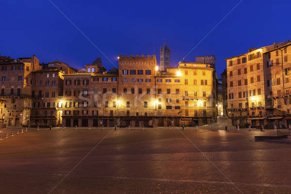 Piazza del Campo in Siena Stock photo © benkrut