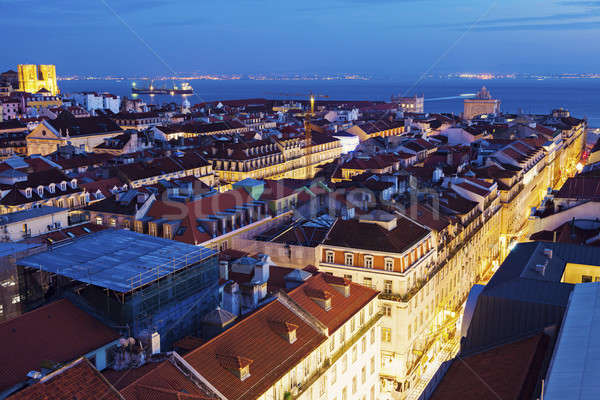 Architecture of Lisbon Stock photo © benkrut