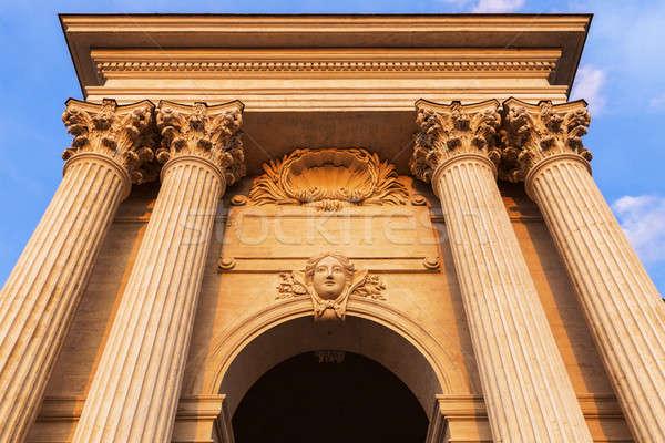 Pavillon du Peyrou in Montpellier Stock photo © benkrut