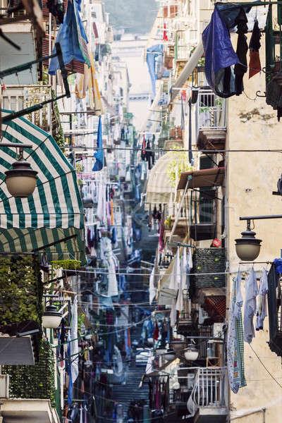 Streets of Naples Stock photo © benkrut