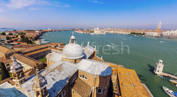 Stock photo: Dome of San Giorgio Maggiore Church