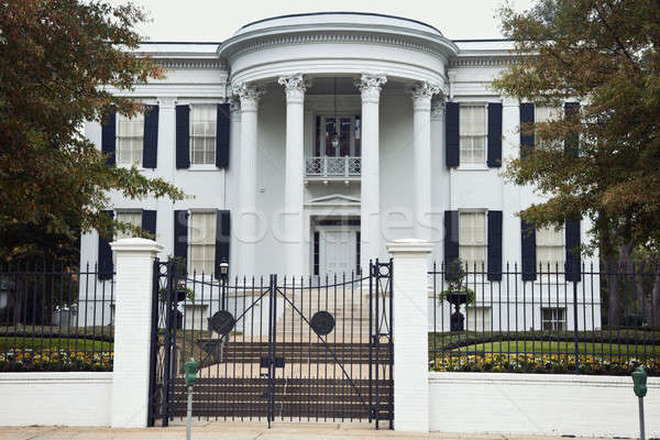 Governor's Mansion in Jackson Stock photo © benkrut