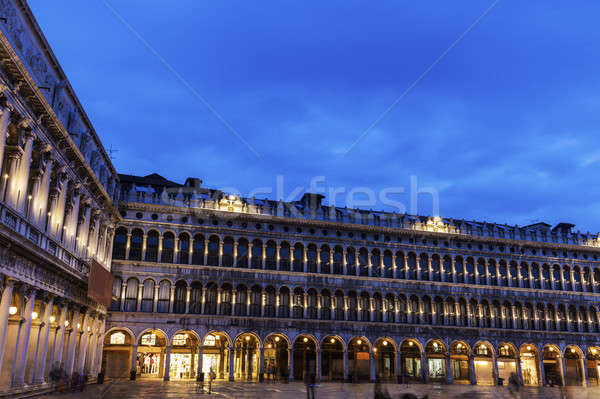 St Mark's Square - Piazza San Marco in Venice Stock photo © benkrut