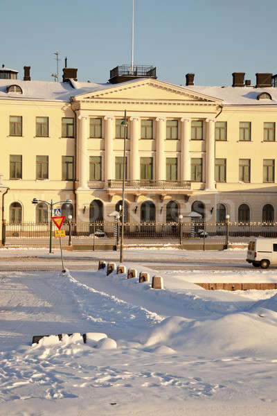 Imagine de stoc: Prezidential · palat · Helsinki · Finlanda