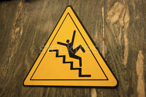 Careful on the stairs Stock photo © benkrut