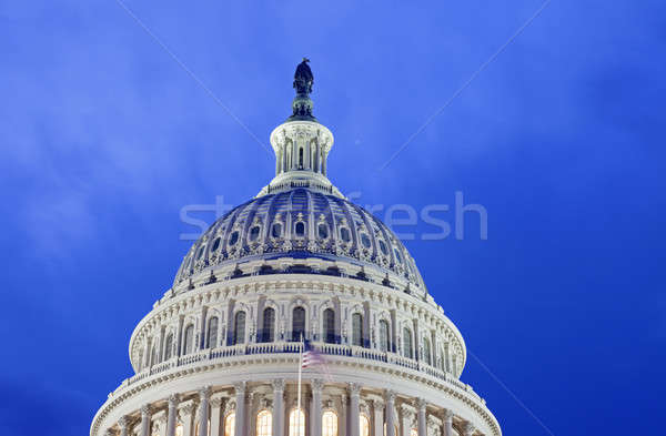 Dome of the Capitol Stock photo © benkrut