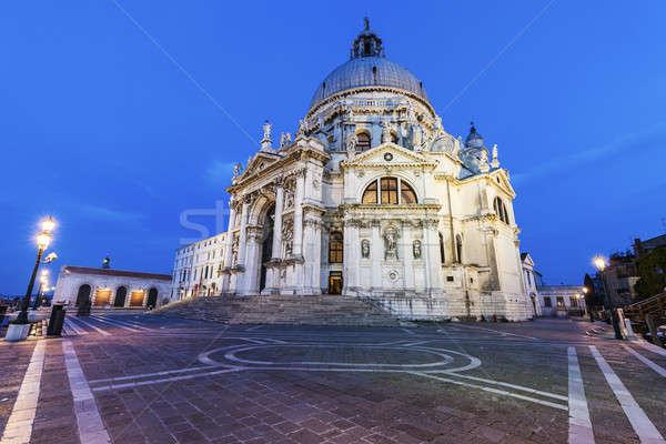 Santa Maria della Salute in Venice Stock photo © benkrut