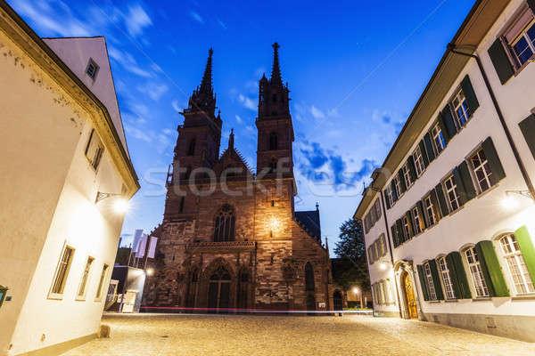Basel Minster Stock photo © benkrut