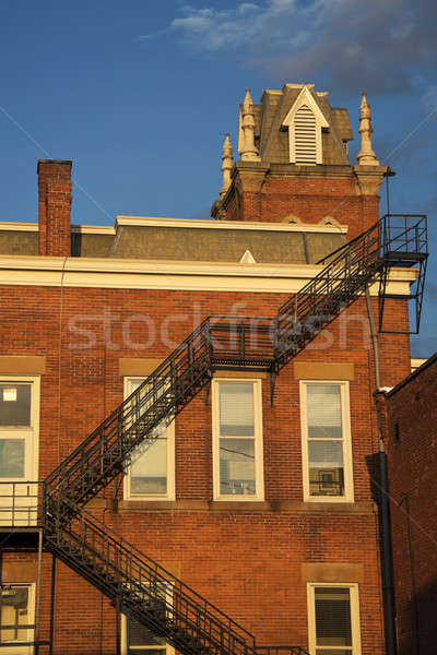 Old courthouse in Jefferson Stock photo © benkrut