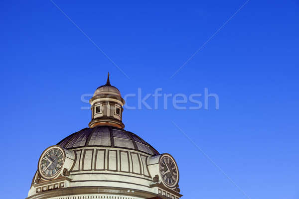 Old courthouse in Lincoln, Logan County Stock photo © benkrut