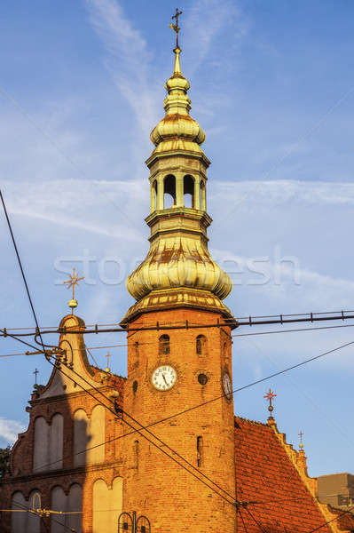 Klaryski Church in Bydgoszcz Stock photo © benkrut