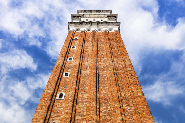 St Mark's Campanile in Venice Stock photo © benkrut