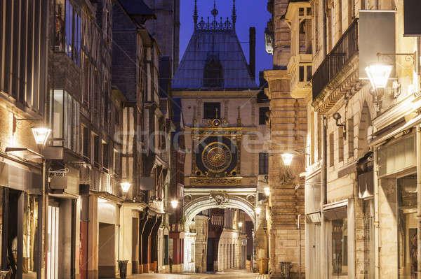 The Great Clock in Rouen   Stock photo © benkrut