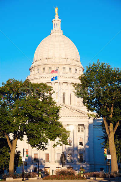 State Capitol Building in Madison Stock photo © benkrut