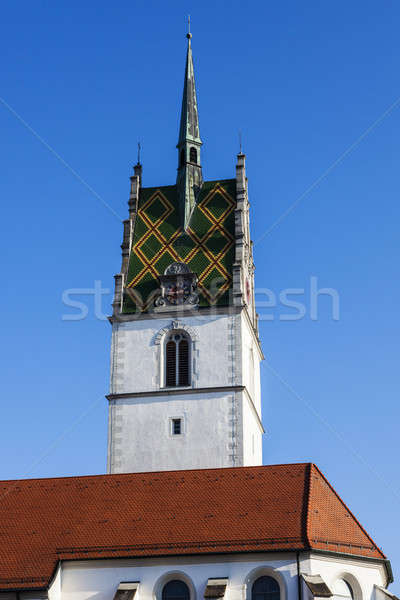 St. Nikolaus Church in Friedrichshafen Stock photo © benkrut
