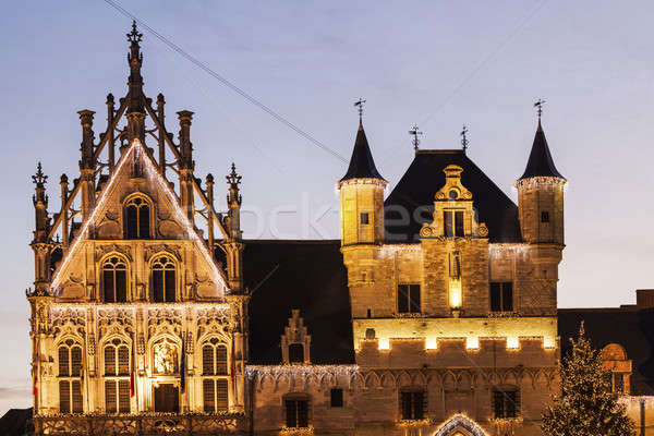 Mechelen City Hall Stock photo © benkrut