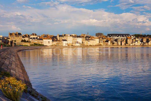 Portu plaży wody miasta podróży panoramę Zdjęcia stock © benkrut
