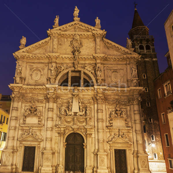 St. Moses Church in Venice Stock photo © benkrut