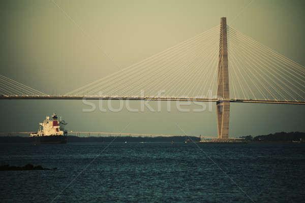 Arthur Ravenel Jr. Bridge Stock photo © benkrut
