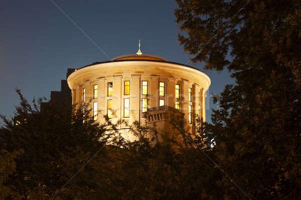 オハイオ州 建物 1泊 青 アーキテクチャ ストックフォト © benkrut
