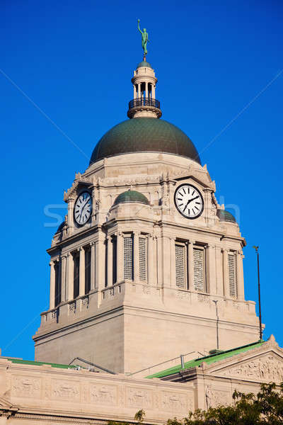Old courthouse in South Bend Stock photo © benkrut