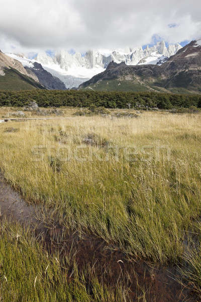Fitz Roy Range  Stock photo © benkrut