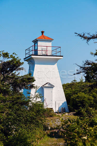 Abbott's Harbour Lighthouse Stock photo © benkrut
