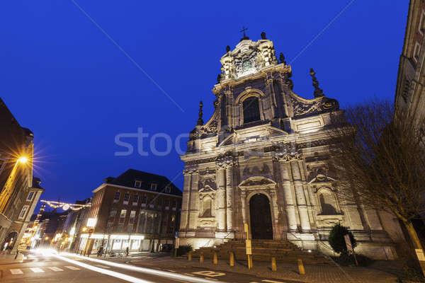 Saint Michael's Church in Leuven Stock photo © benkrut