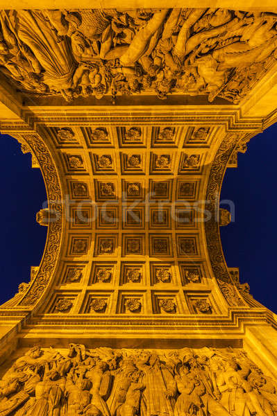 Arc de la Porte d'Aix in Marseille Stock photo © benkrut