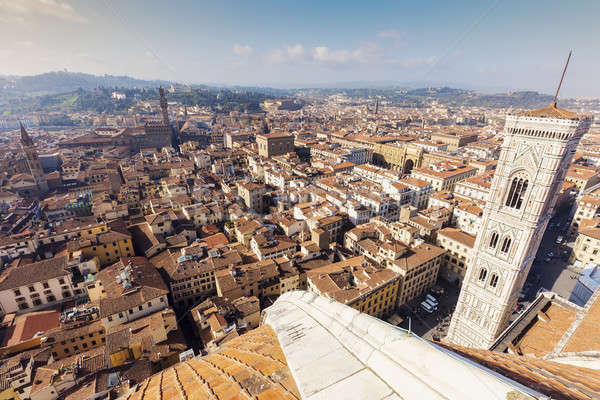 Florence - aerial view of the city  Stock photo © benkrut